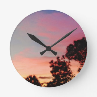 Dawn wall clock