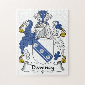 Dawney Family Crest Jigsaw Puzzles
