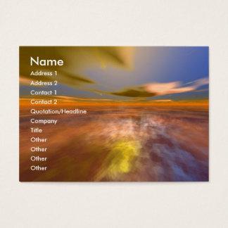 DAWNING DARK/Clouds of a Dream Scape,Sci-Fi,Techno Business Card