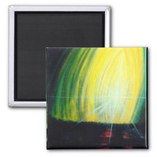 Dawning Light 2 Inch Square Magnet