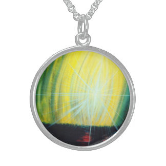 Dawning Light Sterling Silver Necklace