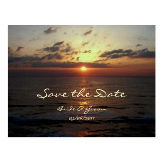 Dawning/ Save the Date Invites Postcard