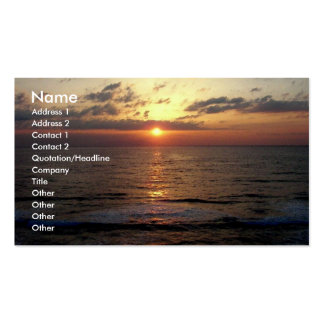 Dawning/Seascape Business Card
