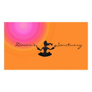 Dawn's sanctuary Double-Sided standard business cards (Pack of 100)