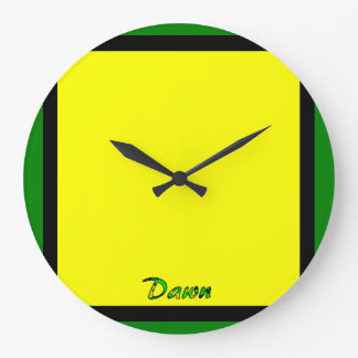 Dawn's wall clock