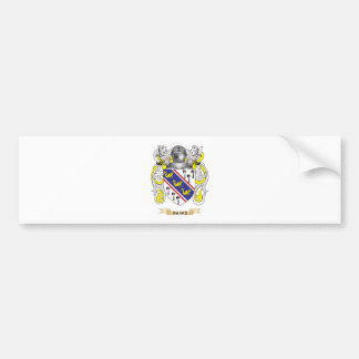 Daws Coat of Arms Bumper Sticker