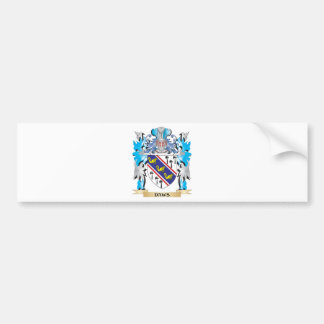 Daws Coat of Arms - Family Crest Bumper Sticker