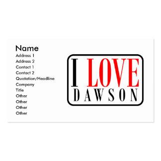 Dawson, Alabama Business Card Templates