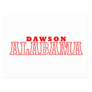 Dawson, Alabama Postcard