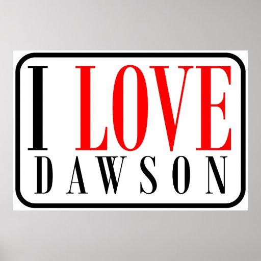 Dawson, Alabama Print