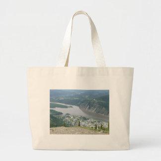 Dawson City, Yukon Large Tote Bag