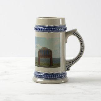 Dawson City Yukon stein Coffee Mugs