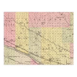 Dawson County, Nebraska Post Card