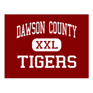 Dawson County - Tigers - Middle - Dawsonville Postcard