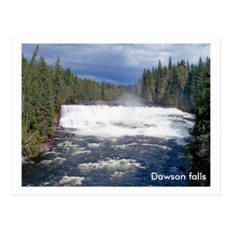 Dawson falls postcard