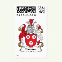 Dawson Family Crest Stamps