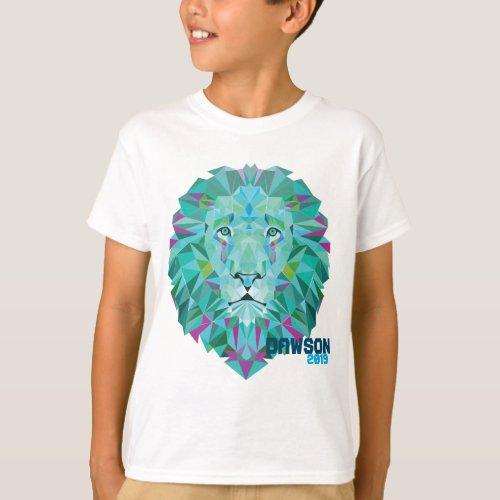 Dawson Geo Lion Kids T_Shirt