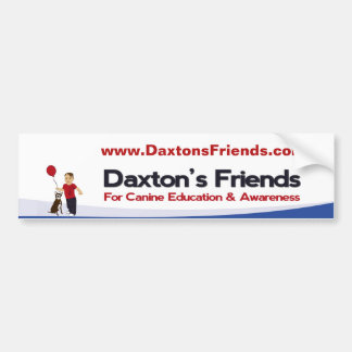 Daxton's Friends Official Bumper Sticker