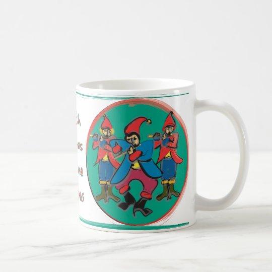 Day 10 - 12 Days of Christmas Coffee Mug