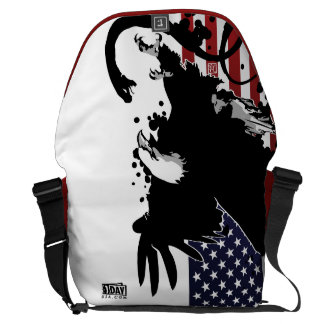 """Day : 1 """"Fearless"""" Large Messenger Bag"""