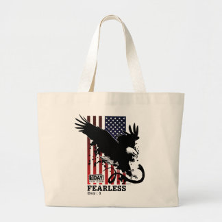 """Day : 1 """"Fearless"""" Tote Bag"""