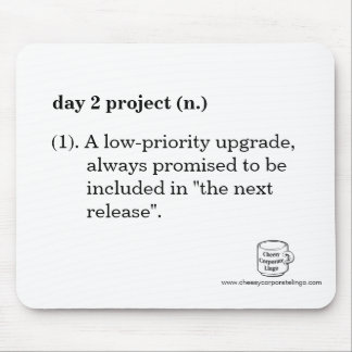 """""""Day 2 Project"""" Definition Mousepad"""