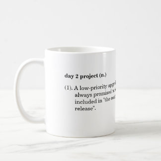 """Day 2 Project"" Definition Mug"