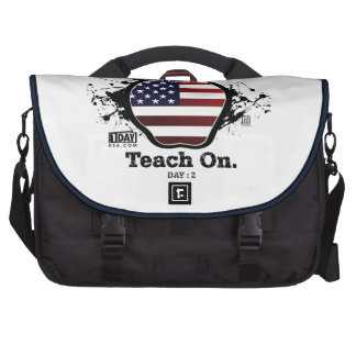 "Day : 2 - ""Teach On"" Rickshaw Commuter Bag"