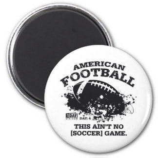 """Day : 4 - """"Football"""" Magnet"""