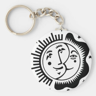 Day and Night Keychain