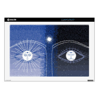 Day and Night laptop skin