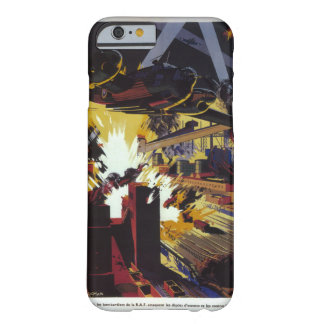 Day and night the bombers of_Propaganda Poster Barely There iPhone 6 Case