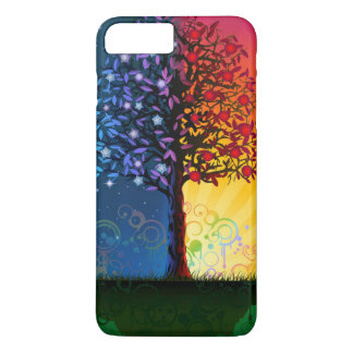 Day And Night Tree iPhone 8 Plus/7 Plus Case