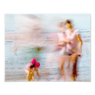 Day At The Beach 11 x 14 Photo Print
