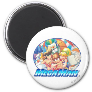 Day at the Beach 2 Inch Round Magnet