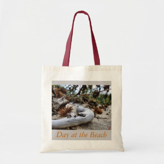 Day at the Beach Budget Tote Bag