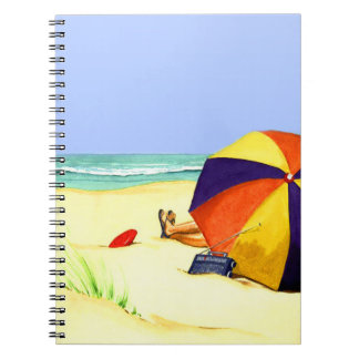 Day at the Beach Notebook