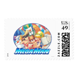 Day at the Beach Postage Stamp