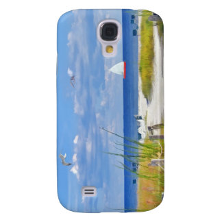 Day at the Beach Samsung Galaxy S4 Cover