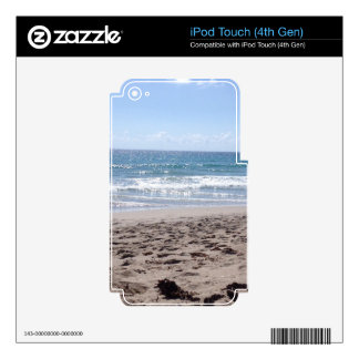 Day At The Beach Decals For iPod Touch 4G