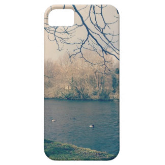 Day at the Duck Pond iPhone SE/5/5s Case