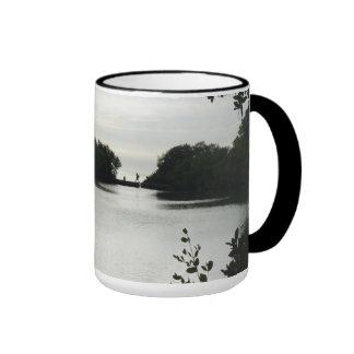 Day at the Lake Ringer Coffee Mug