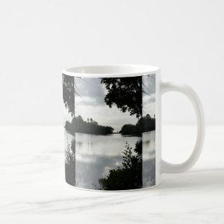 Day at the Lake Classic White Coffee Mug