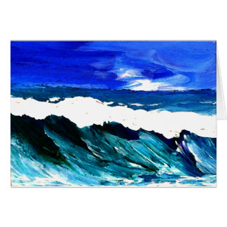 Day At The Ocean 2 - Ocean Waves CricketDiane Card
