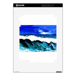 Day At The Ocean 2 - Ocean Waves CricketDiane Decals For iPad 2