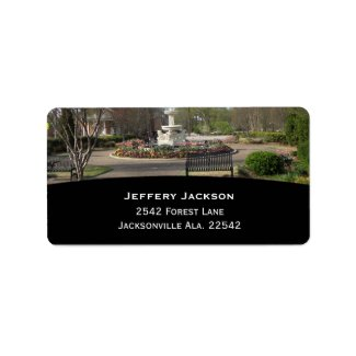 Day At The Park Address Labels