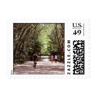 Day at the Park Postage Stamps