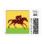 Day At The Races Postage Stamps