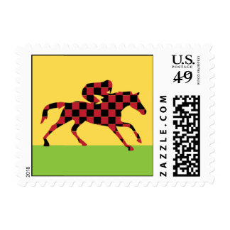 Day At The Races Stamp