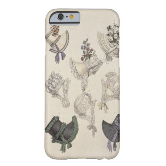 Day bonnets, fashion plate from Ackermann's Reposi Barely There iPhone 6 Case